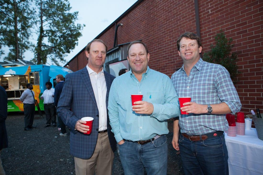 Woody Gayle, Darby Mclamy, Paul Pilcher