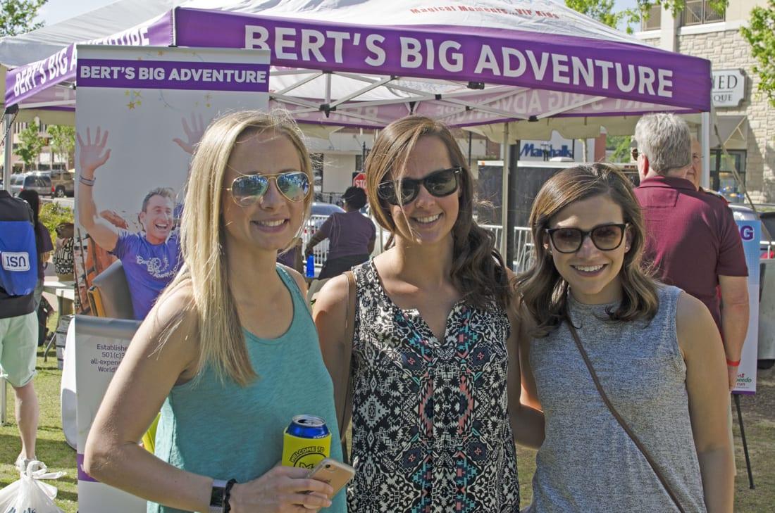 Libby Campanella, Meleia Miller, Ashton Booher