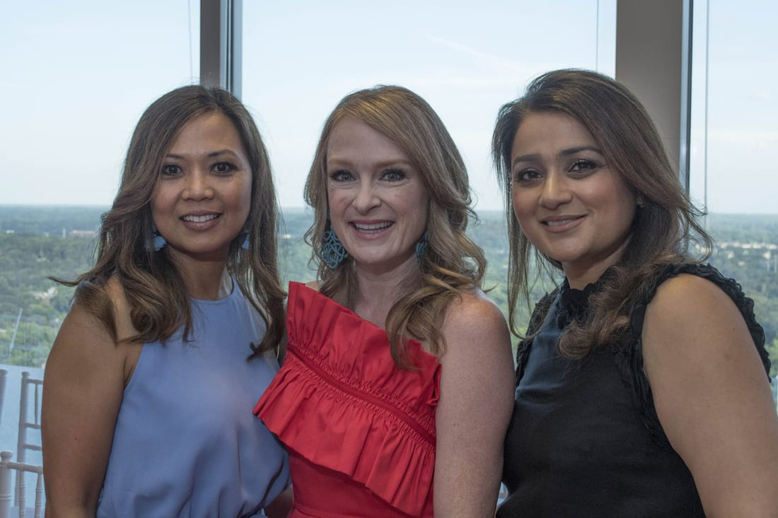 Joyce Ellis, Ashley Stamoulis, Radhika Behl,