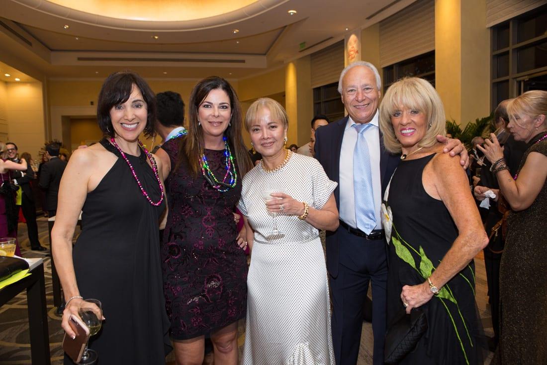 Lois Beserra, Linda McColley, Aida Flamm, Ronny Pepper, Joanne Truffleman