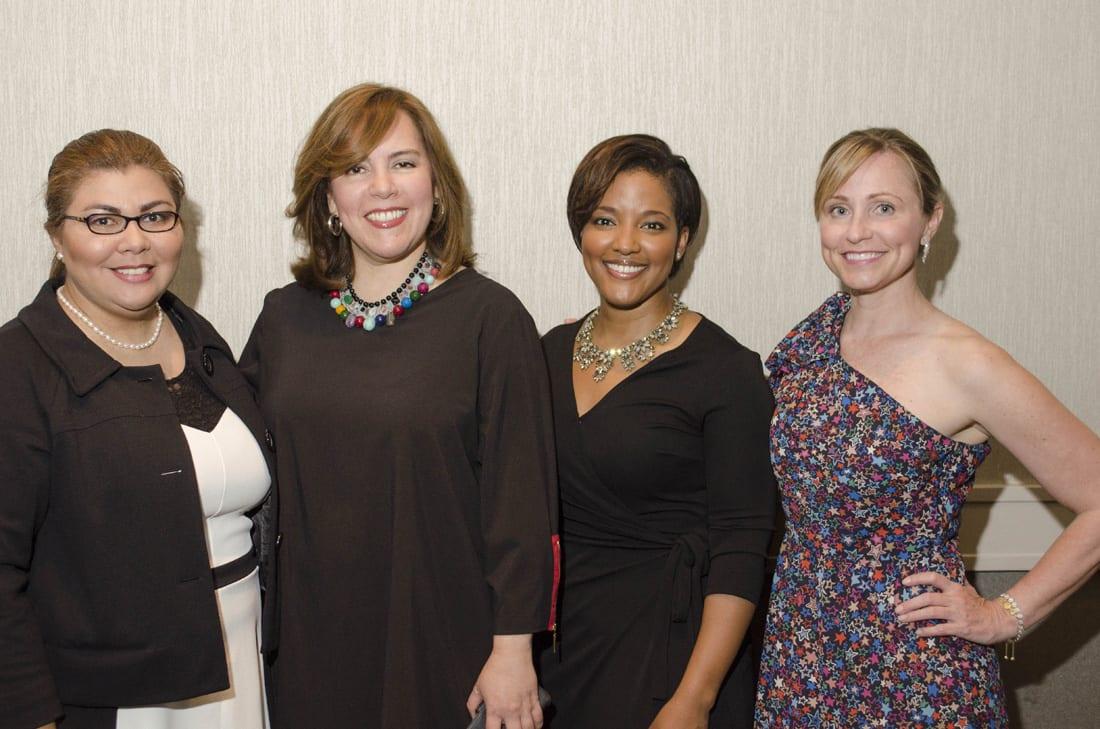 Fm Left: Maria Craig, Adriana Varela, Angela Dotson, Cati Diamond Stone