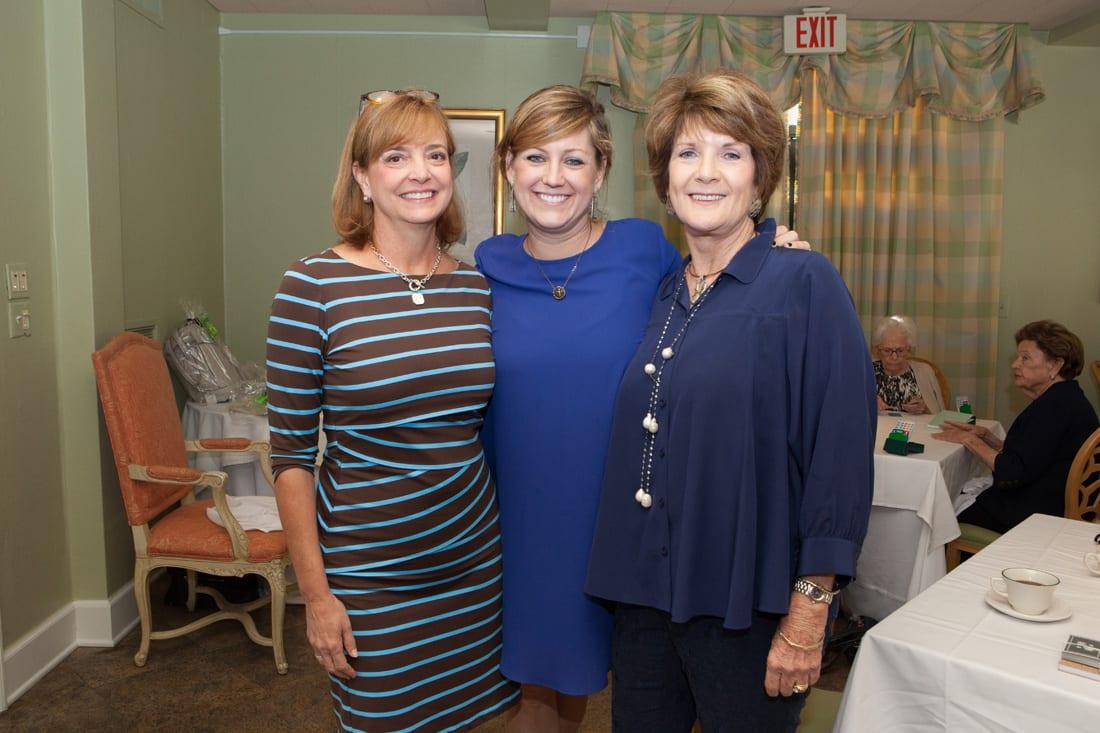 Melissa Bernhardt,Tricia Washington, Debbie Martin