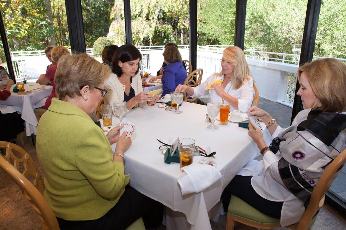Jean Held, Dana White, Beverly Gwynn, Lombard Puri