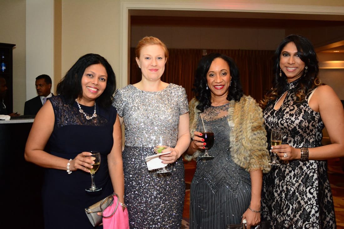 Deepika Phadke, Catharine Sanders, Tracey Morrison and Preeti Coffin