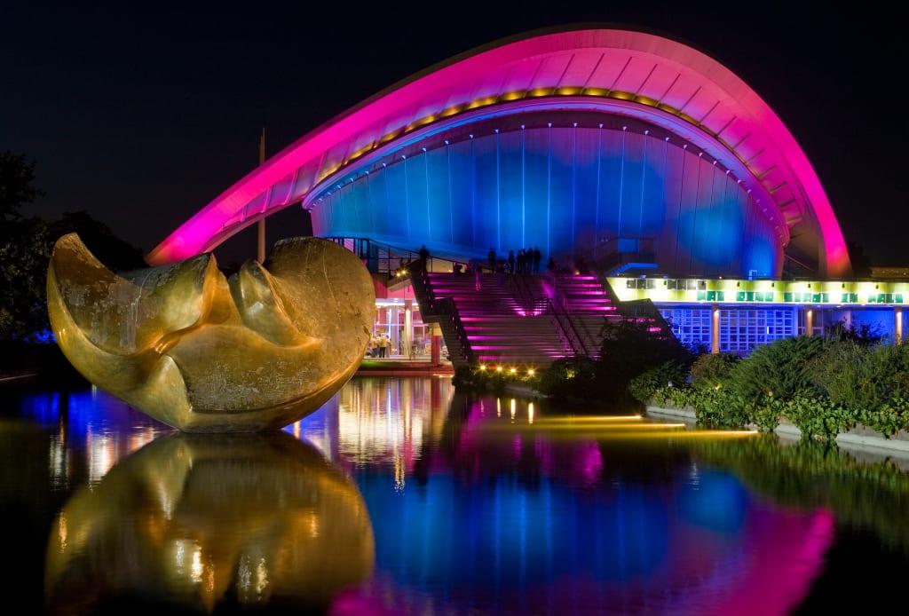 The Haus der Kulturen der Welt is Berlin's national center for the presentation of international contemporary arts.