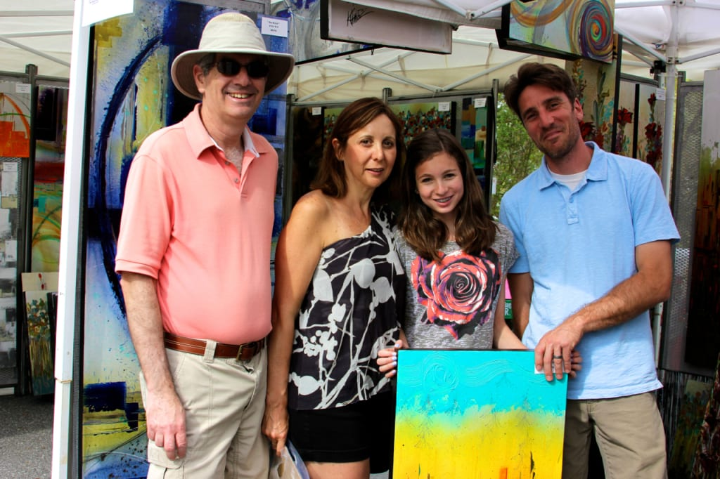 With kids activities and many types of art on display, Artsapalooza is ideal for a multi generational day of fun.