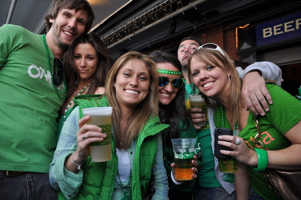FADÓ IRISH PUB THROWS BUCKHEAD'S LARGEST ST. PATRICK'S DAY FESTIVAL