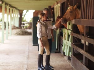 Equestrian offerings range from Western-style riding to proper English polo.