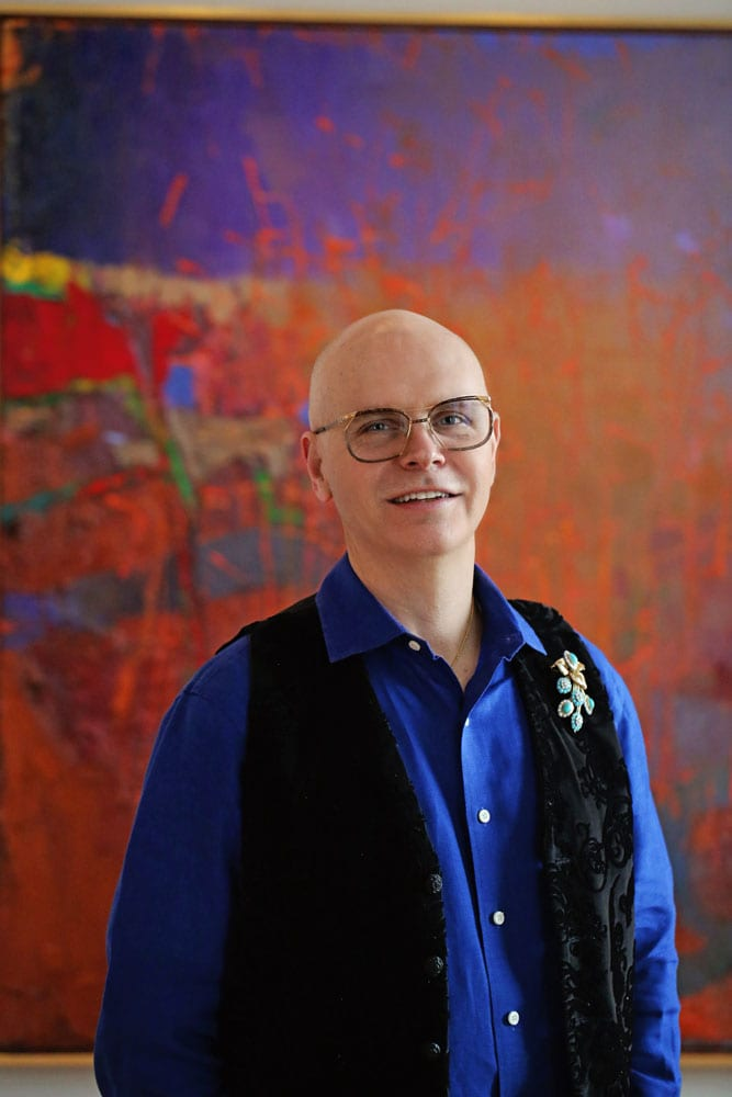 Timothy Tew started a gallery as a way to promote and own the works of artists he loved.