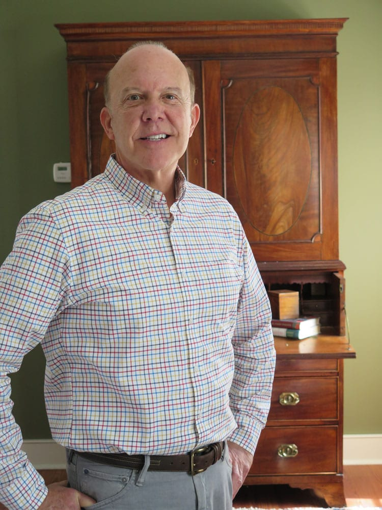 John Knowlton - a dealer at Buckhead's Peachtree Battle Antiques & Interiors