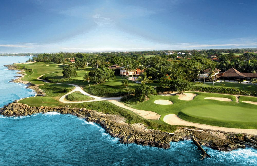 Guests can play 90 challenging holes of golf, right on property.