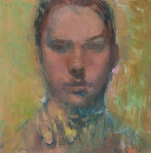 Elena Zolotnitsky's painting Untitled Face.