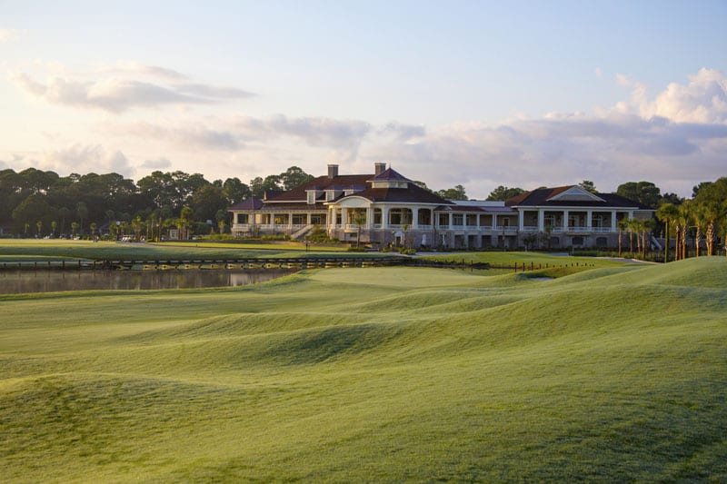 The newly opened Harbour Town Clubhouse is home to Links American Grill and the Hall of Champions, which features paintings of every RBC Heritage winner since the tournament's inception.