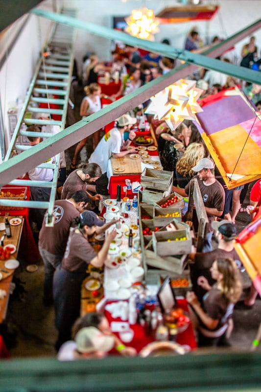 More than 50 chefs and mixologists will be serving at the Attack of the Killer Tomato Festival.