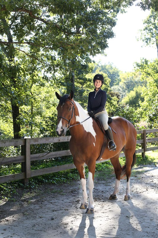 CHASTAIN HORSE PARK with Caroline Cohen.