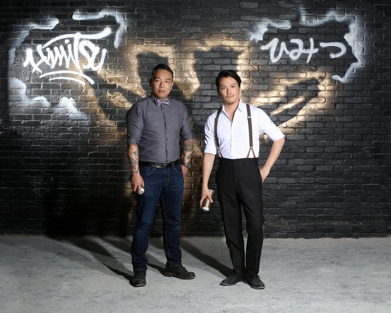 T. Fable Jeon (left) and Shingo Gokan (right) are the genius team behind Himitsu.
