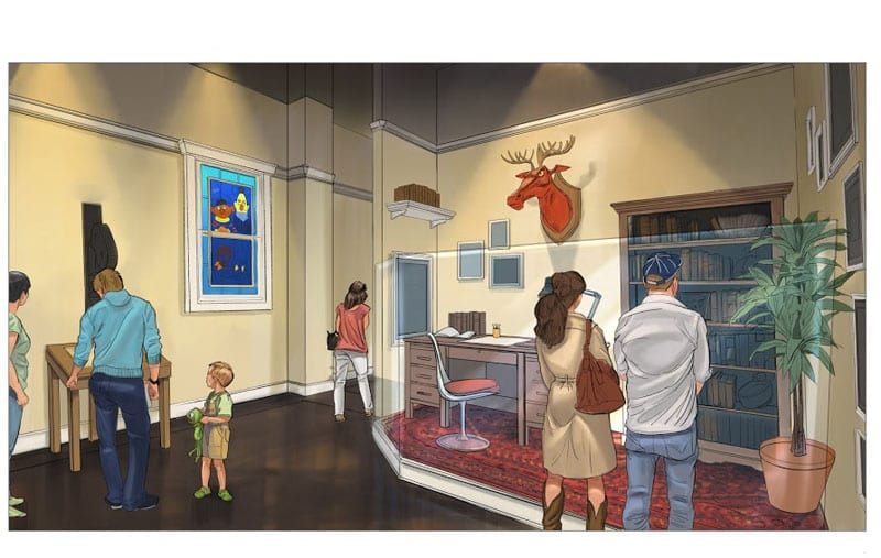 When the Center for Puppetry Arts reopens Nov. 14, visitors will be able to view hundreds of artifacts once belonging to legendary puppeteer Jim Henson.