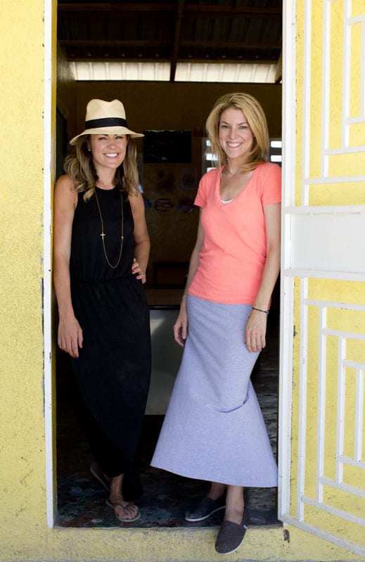 Project Love founders Amy Crouse and Elizabeth Mathes.