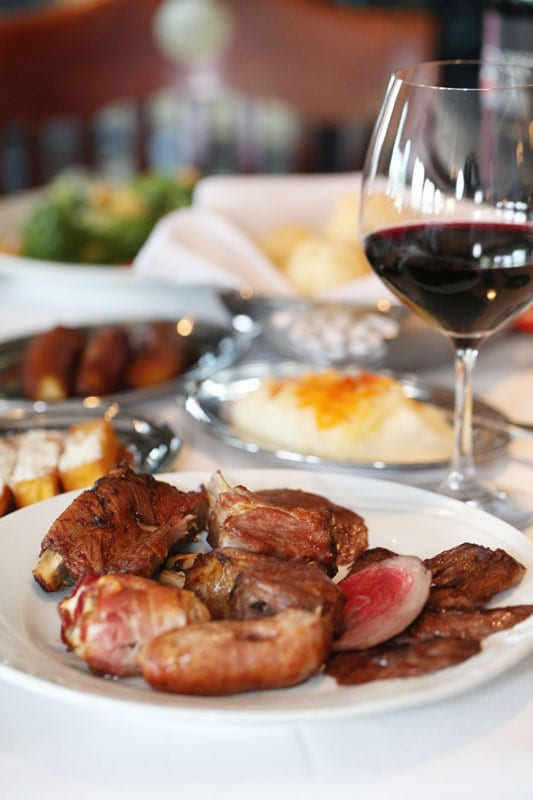 Beef, chicken, sausage, pork, lamb: Why not try a little of everything at Fogo de Chão?