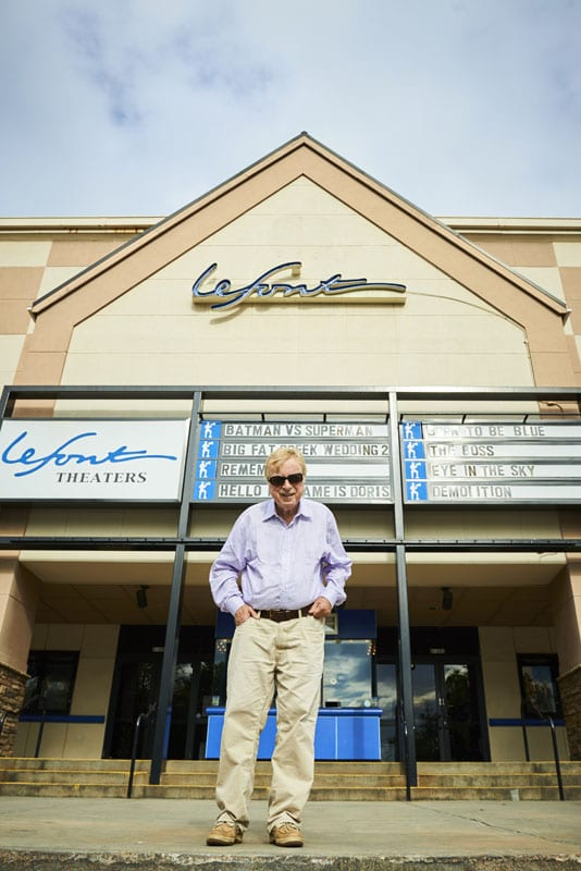 George LeFont celebrates his 40th year in the theater business this year.