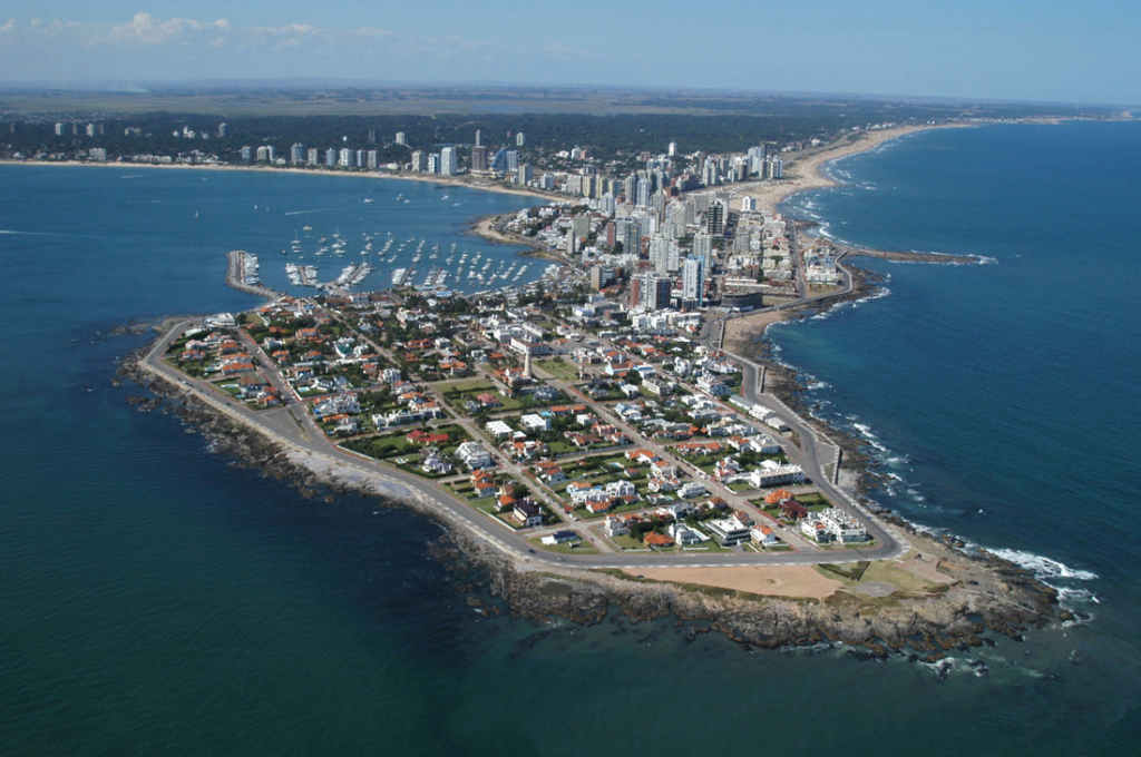 Punta del Este, Uruguay, is a coastal playground for Argentina's elite