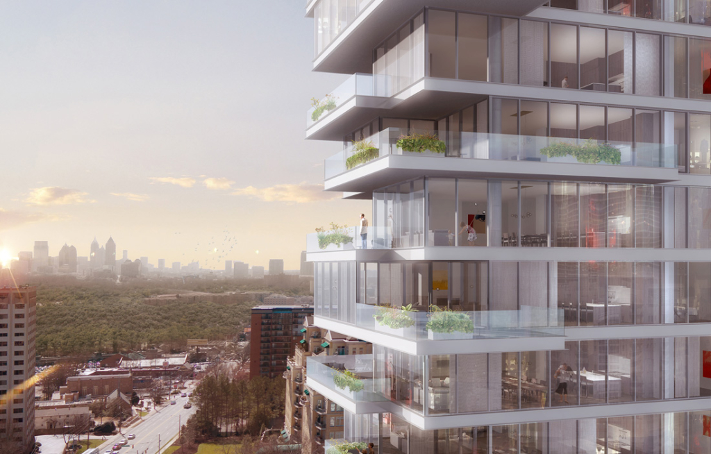 JPX Works' latest cascading design, Emerson, features sophisticated, luxurious homes in one of Buckhead's most iconic neighborhoods.
