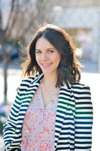 Style blogger Jessica Camerata