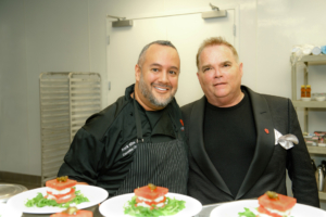 Chef Mark with Tony Conway Founder & CEO Legendary Events