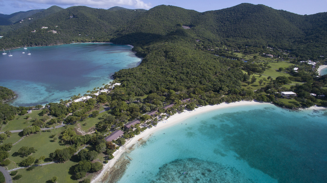 There is no wet or dry season so weather conditions are pretty much gorgeous all year round at Caneel Bay Resort.