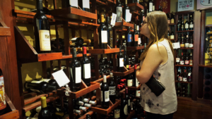 Grab a bottle or two of your favorite wines at the Cork Boutique.