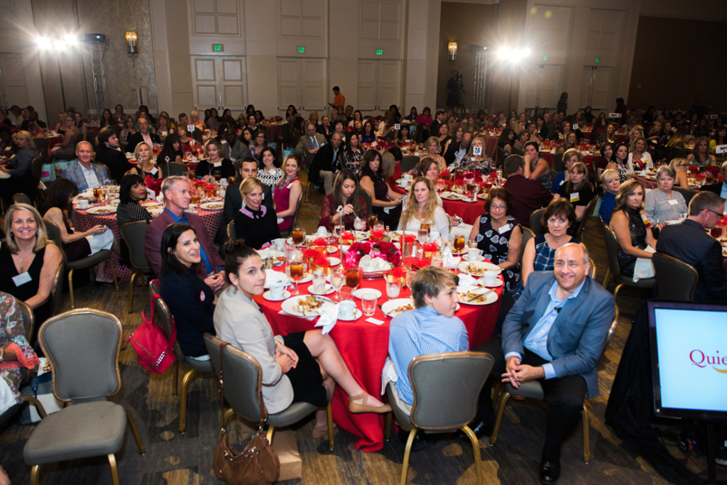 CURE's 12th annual luncheon brought together more than 550 people who honored the mothers of children with cancer.