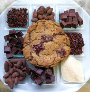 Black Mountain Chocolate's award-winning chocolate chip cookie.