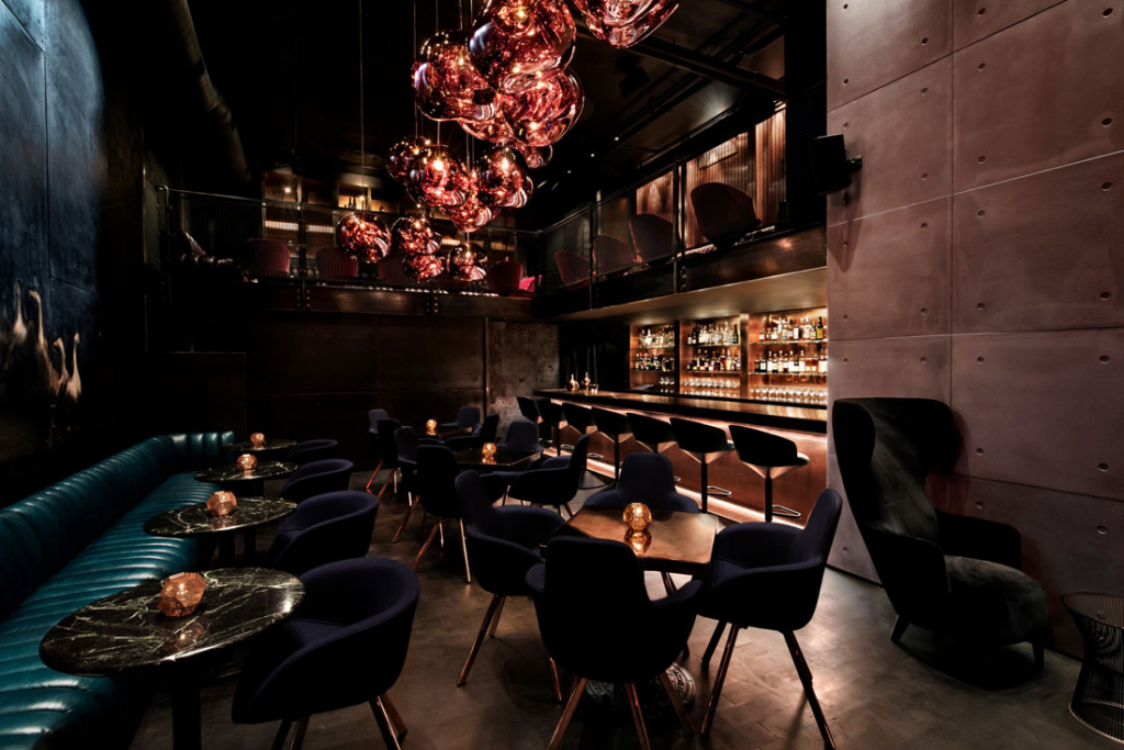 The reservation-only Japanese cocktail lounge in Buckhead, Himitsu, was recently honored for its stunning design.