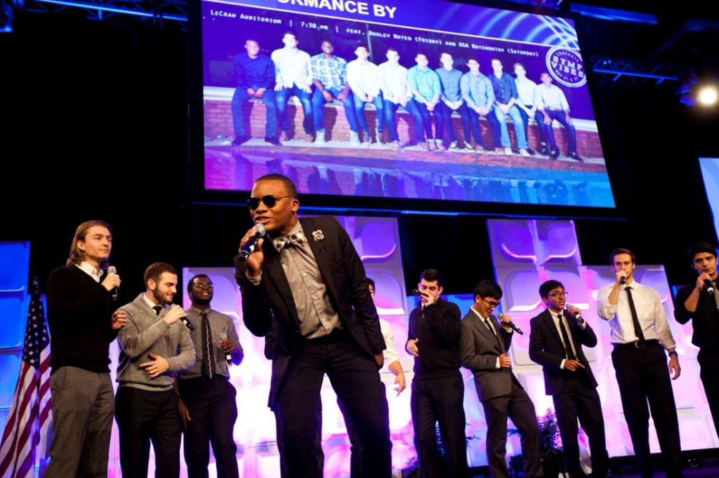 The a cappella group Symp Vibes will get your toes tapping at this year's Heritage Winter Classics concert series.
