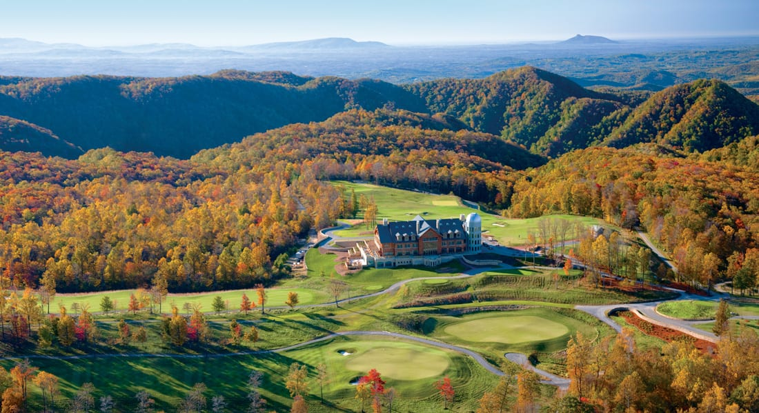 Preserving the beauty of Primland's 12,000 acres is a priority; the property became LEED certified in 2012.