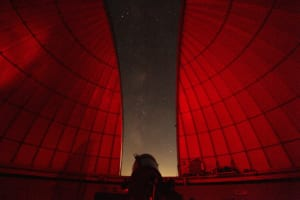 Guests can explore the vast night sky at the Observatory Dome.