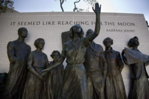 Virginia Civil Rights Memorial in Richmond - Courtesy Virginia Tourism Corporation