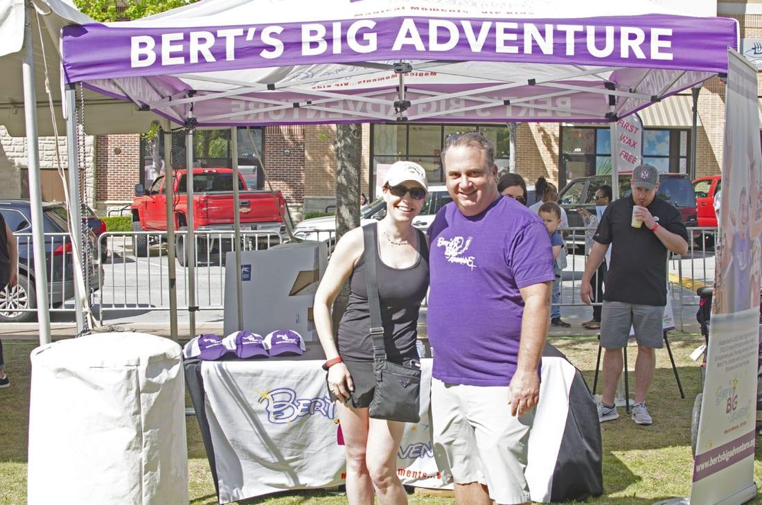 Allison Howard - Dentistry for Children & Family Orthodontics (Sponsor for Bert's Big Adventure), Bobby Kelly - Development Director Berts Big Adventure