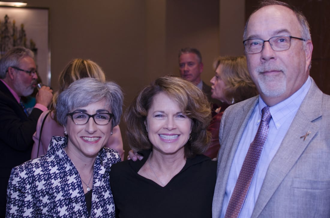Fm Left: Sandra Edwards, Margaret Ann Kennedy, Kevin Kennedy
