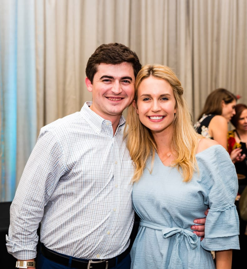 Simply Buckhead Magazine August 15, 2019 Eighth Annual Eats & Beats presented by Children of Conservation Left to Right: Ellen Marsh and Berlin Sewell  Photo Credit: Henri Hollis
