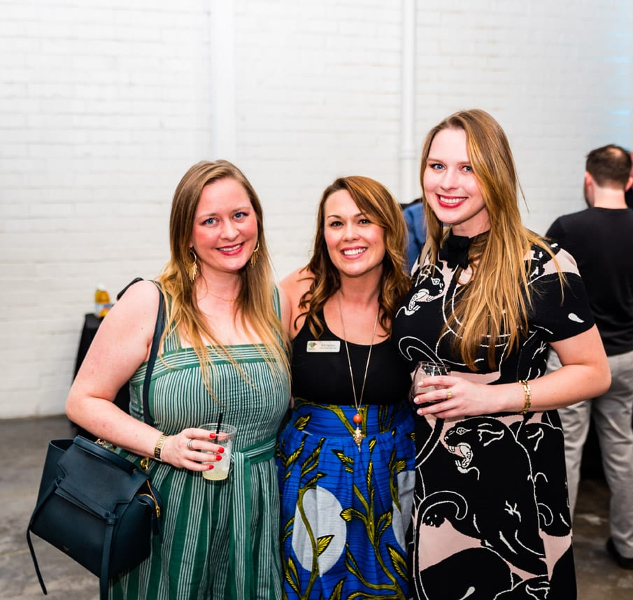Simply Buckhead Magazine August 15, 2019 Eighth Annual Eats & Beats presented by Children of Conservation Left to Right: Abigail Derr, Britt Harrison and Missy Derr  Photo Credit: Henri Hollis