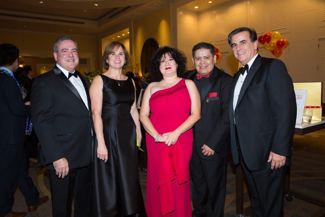 Willy Rivero, Maggie Rivero, Margret de Freitas, Felipe Ramirez, Ed Martinez