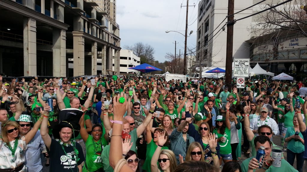 Fadó's annual celebration has been Atlanta's largest outdoor St. Patrick's Day party since it started in 1996.