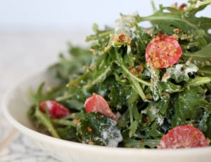 Thirteen Pies' baby kale salad with Parmesan-buttermilk dressing is a keeper.