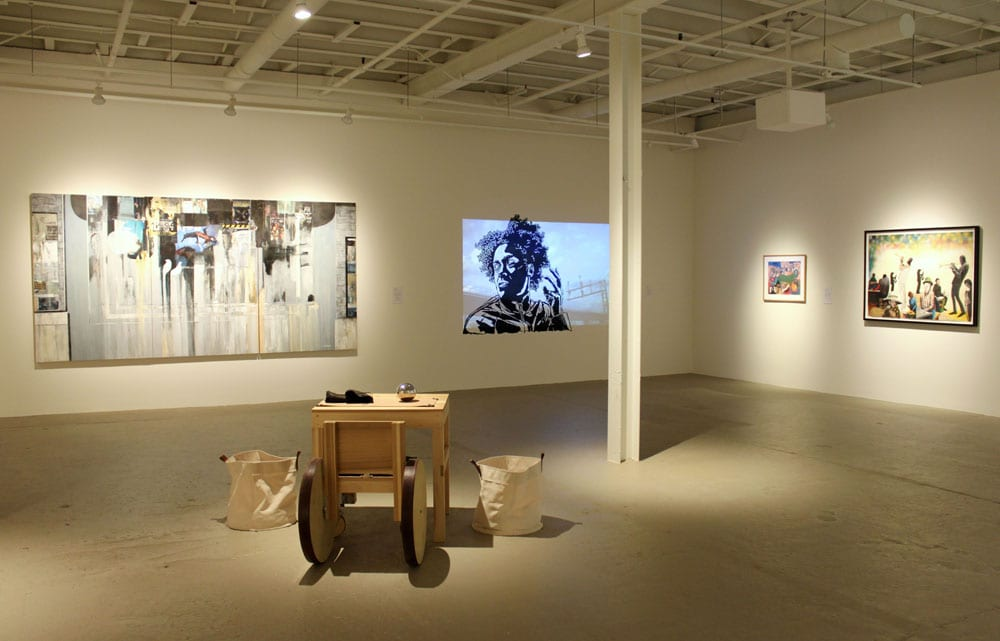 MOCA GA, in the Bennett Street district, features contemporary work from local artists.