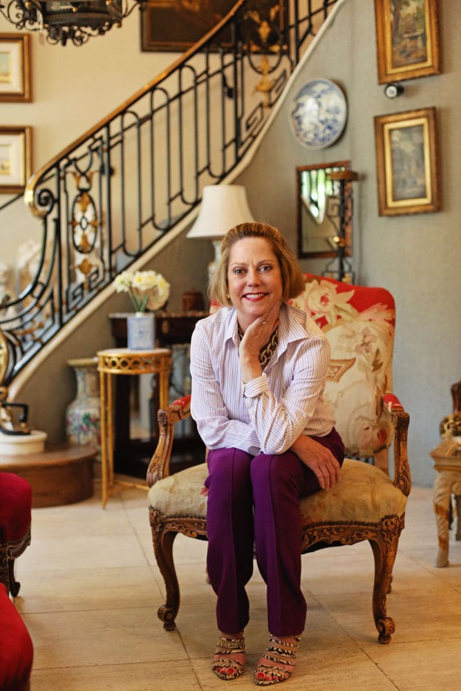 Jane Marsden-Willis carries on the work her late mother, who created a two-level display space of antiques and collectibles 25 years ago.