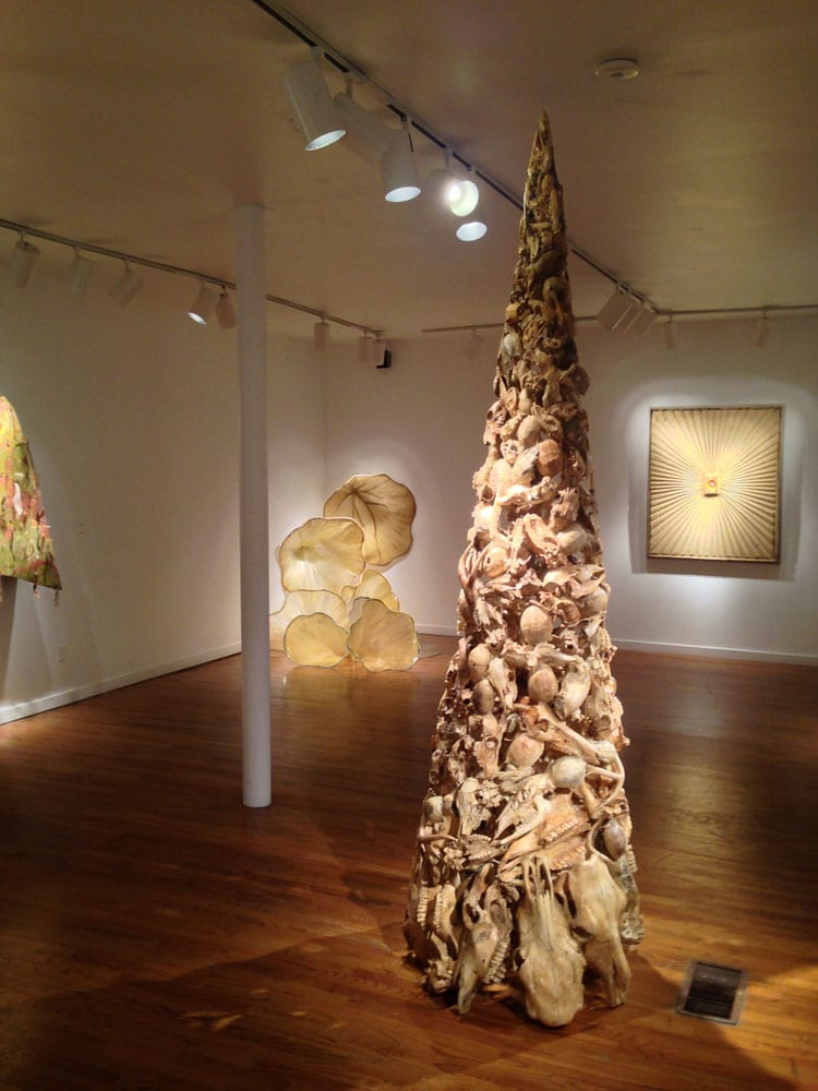 Along with works of instructors and students, City Gallery Chastain hosts exhibits by outside artists, such as this show of works by Michael Murrell.