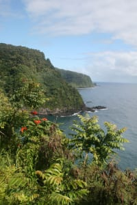 """Stunning coastal views abound at every turn of the """"Valley Isle."""""""