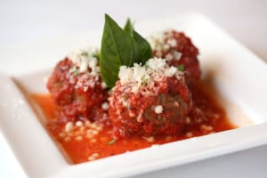 While Portofino's cuisine can be playful and creative, the veal and ricotta meatballs are a good example of rib-sticking, oldfashioned Italian at its best.