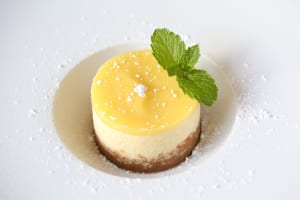 Pastry chef Deenie Anderson's limoncello cheesecake is bright, zingy and perfect for summer.